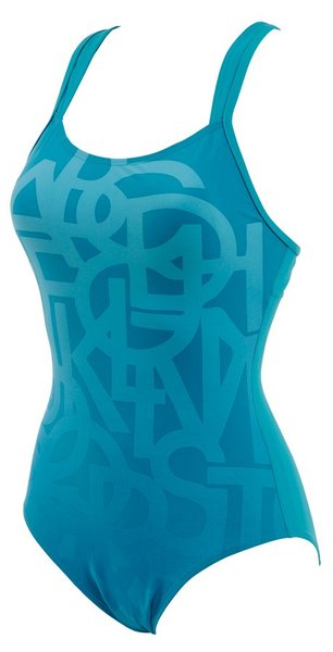 ARENA Glam low cut D-cup one piece (86215)