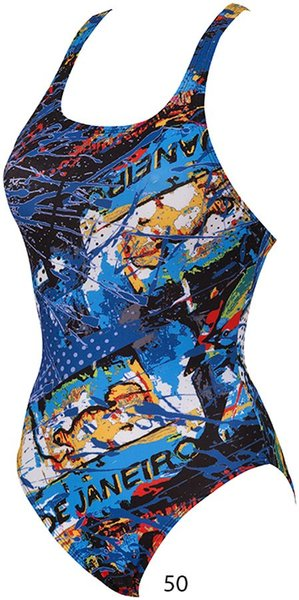 ARENA Carioca one piece swim pro back (86271)