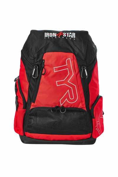 Рюкзак  TYR  Alliance 45L Backpack IRONSTAR (640 Красный/Черный)