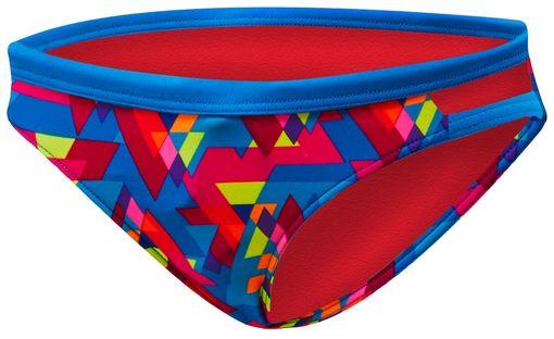 Плавки  TYR Le Reve Cove Bikini Bottom (232 Розовый/Бирюзовый)