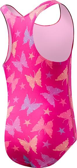 Купальник детский TYR Flutter Maxfit (670 Розовый)
