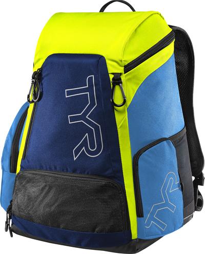 Рюкзак TYR Alliance 30L Backpack (487 Голубой/Зеленый)