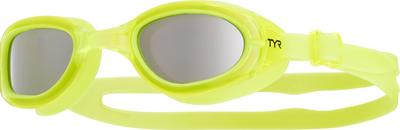 Очки для плавания TYR Special Ops 2.0 Jr. Polarized (719 Серебристый/Желтый/Желтый)