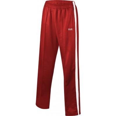Брюки спортивные TYR Men'S Freestyle Warm-Up Pants (610 Красный)