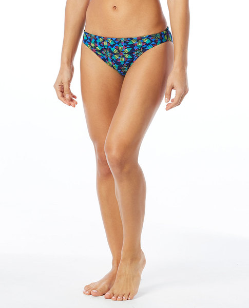 Плавки  TYR Edessa Lula Bikini Bottom (418 Синий/Мульти)