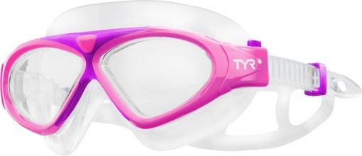 Маска для плавания детская TYR Junior Magna Swim Mask (670 Розовый)