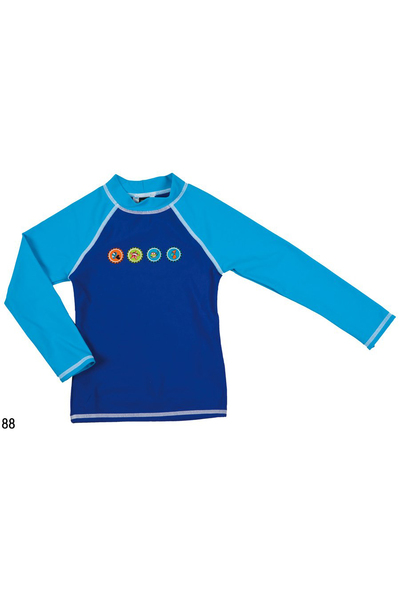 ARENA AWT CROWNCAPS KIDS UV L/S TEE (1B467)