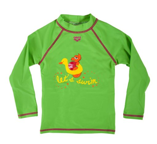 ARENA AWT KIDS GIRL UV LONG SLEEVES SHIRT (1B156)