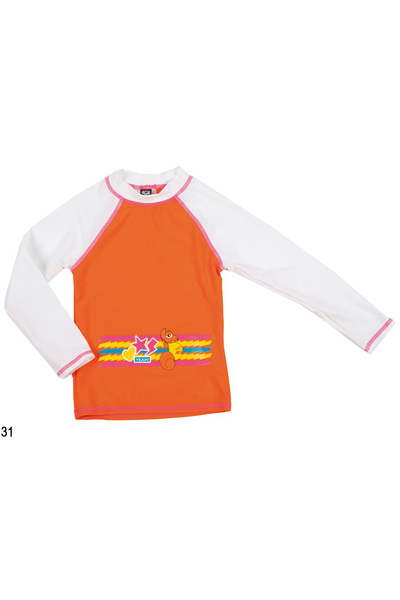 ARENA AWT KIDS GIRL UV L/S TEE (1B464)