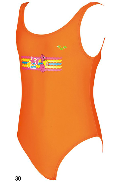 ARENA AWT SEAHORSEKIDS GIRL ONE PIECE (1B459)