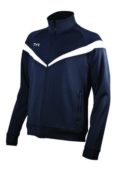 Куртка спортивная TYR Men'S Freestyle Warm-Up Jacket (401 Синий)