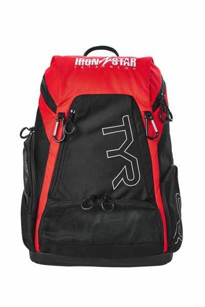 Рюкзак  TYR  Alliance 30L Backpack IRONSTAR (002 Черный/Красный)