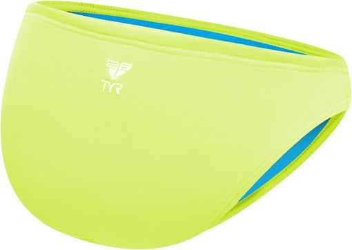 Плавки TYR Solid Classic Bikini Bottom (730 Светло-желтый)