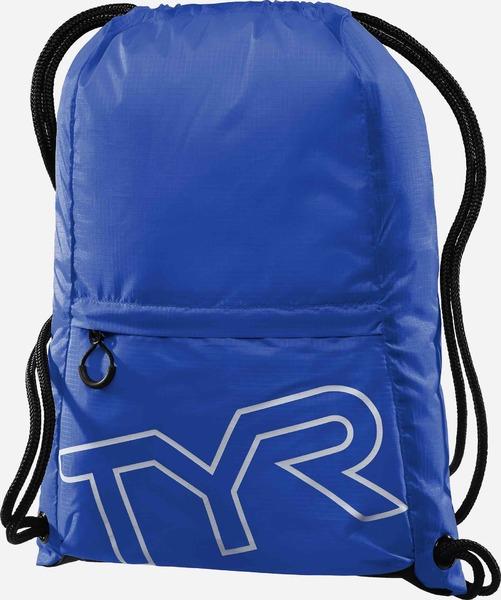 Рюкзак-мешок TYR Drawstring Backpack (428 Синий)