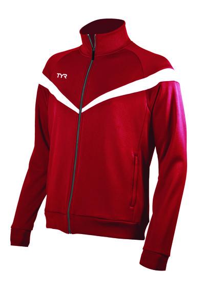 Куртка спортивная TYR Men'S Freestyle Warm-Up Jacket (610 Красный)