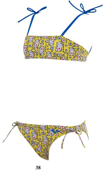ARENA Купальник Catgirl youth bandeau (15660)
