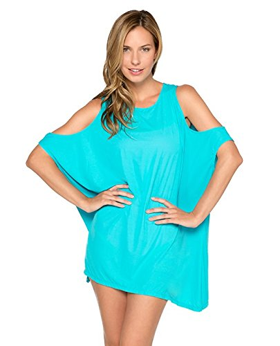 Туника TYR Hb Freestyle Lounge Cold Shoulder Tunic (450 Бирюзовый)