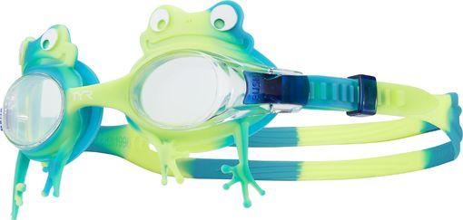 Очки для плавания TYR Swimple Frog (297 Прозрачный/Зеленый/Желтый)