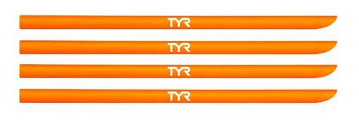 Набор резинок для лопаток TYR Hand Paddle Strap Kit (820 Светло-оранжевый)