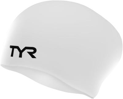 Шапочка для плавания TYR Long Hair Wrinkle-Free Silicone Cap (510 Фиолетовый)