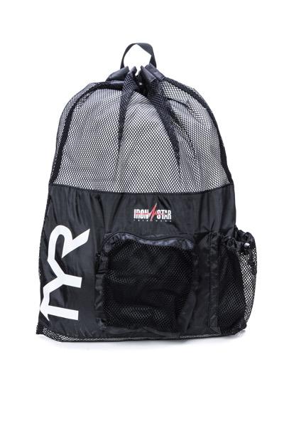 Рюкзак для аксессуаров TYR Big Mesh Mummy Backpack IRONSTAR (001 Черный)