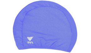 Шапочка для плавания TYR Solid Lycra Cap (428 Голубой)