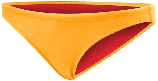 Плавки TYR Solid Mini Bikini Bottom (820 Светло-оранжевый)