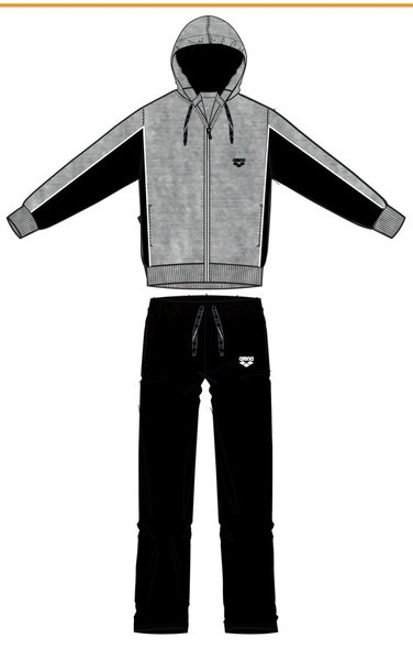 ARENA Спортивный костюм Essence full zip tracksuit panel bicolor (69630)