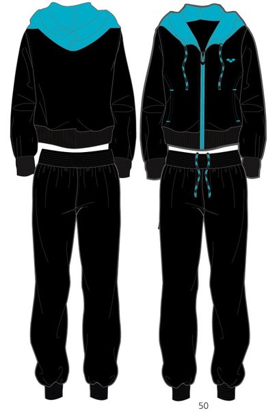 ARENA Спортивный костюм Essence hooded full zip tracksuit (69627)