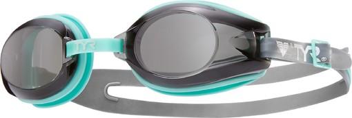 Очки для плавания TYR Femme T-72 Petite (101 Прозразный/Светло-голубой/Прозрачный)