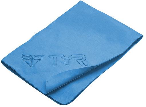 Полотенце синтетическое (маленькое) TYR Dry Off Sport Towel (420 Голубой)