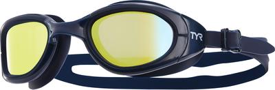 Очки для плавания TYR Special Ops 2.0 Polarized (759 Синий/Золотой)