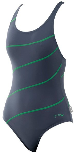 ARENA Green one piece energy back (86081)