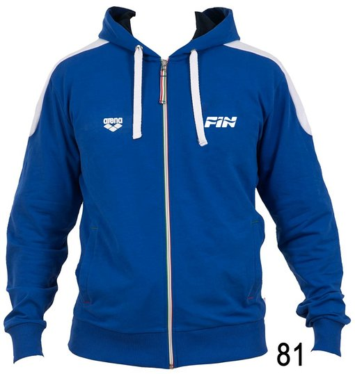 ARENA Толстовка Hooded F/Z jacket FIN II - (68437)