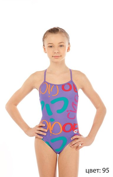 ARENA Ciao jr light drop back one piece (1A363)