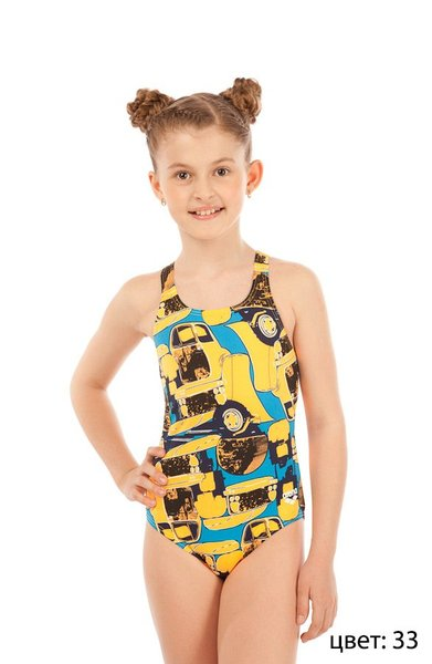 ARENA Mechanic jr one piece swim pro back (1A379)