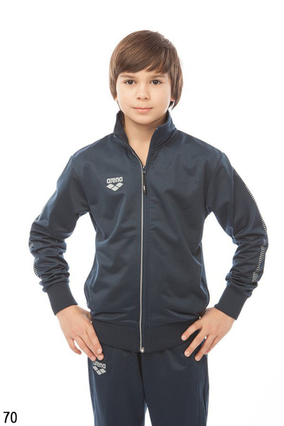 ARENA JR TL KNITTED POLY JACKET (1D574)