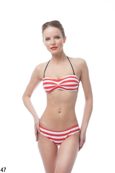 ARENA STRIPES BANDEAU (1B423)