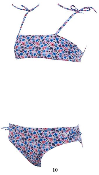 ARENA Купальник Little flowers youth bandeau (15663)