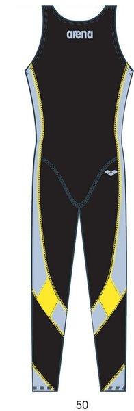 Гидрокостюмы Arena Костюм для плавания Man full leg suit Xtreme (25138)