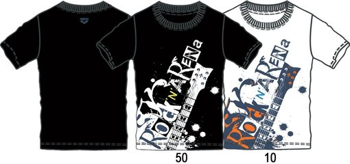 ARENA Футболка Separates T-Shirt Rock (38633)