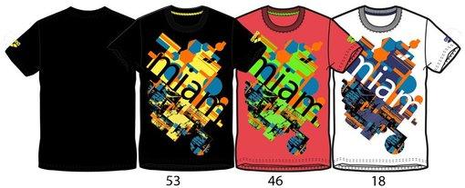 ARENA Футболка Miami T-Shirt (38595)