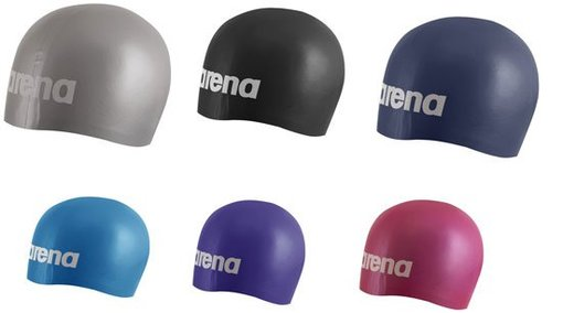 ARENA Шапочка Moulded Silicon Jr Cap (91669)