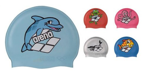 ARENA Шапочка Multi Jr 5 Arena World Cap (91388)