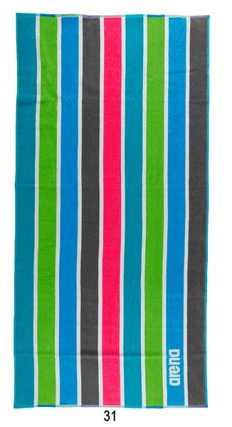 ARENA Полотенце Stripes Towel (1B069)