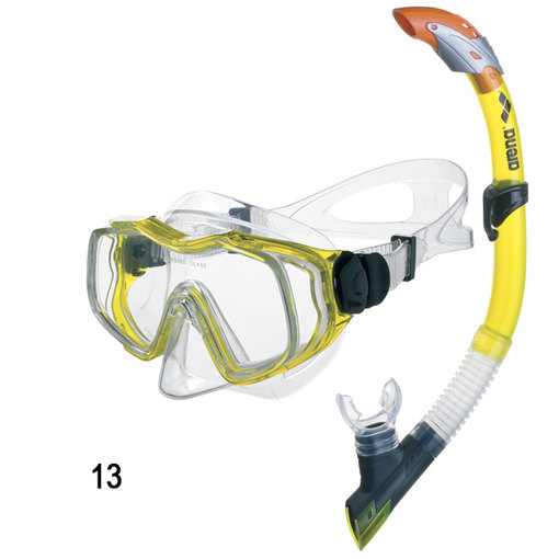 ARENA Маска и трубка Sea Discovery Jr Mask + Snorkel (95221)