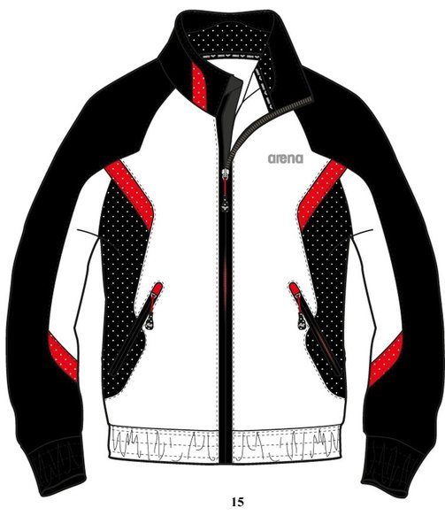 ARENA Кофта Performance full zip jacket (68375)
