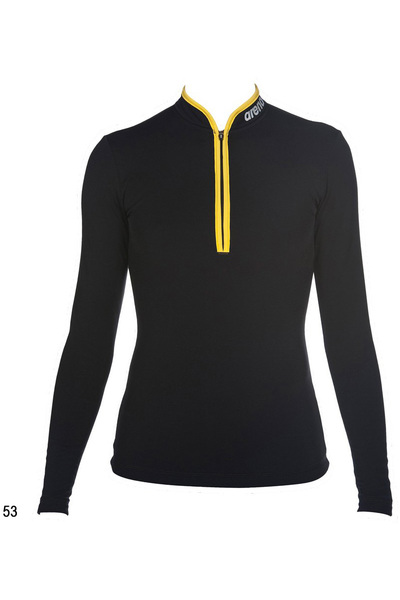 ARENA W PERF HALF ZIP LONG SLEEVE (1D448)