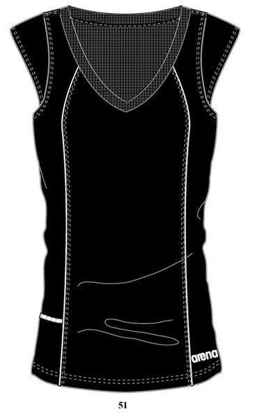 ARENA Футболка Performance t-shirt V neck (37997)