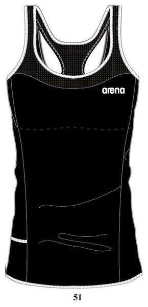 ARENA Топ Performance top bra inside (38530)